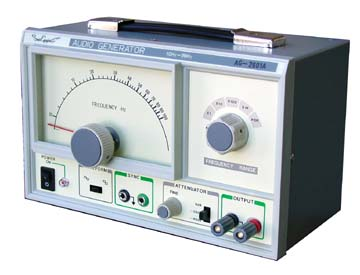 Sound frequency generator
